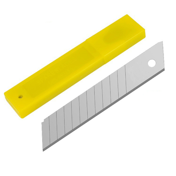10Pcs / box 9mm And 18mm Office Supplies Cutter Blade