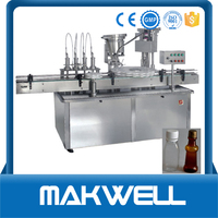 bottle liqua health filling and capping machine with high quality