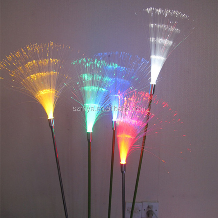 LED plant reed christmas holiday outdoor garden/plaza decoration led reed flower light