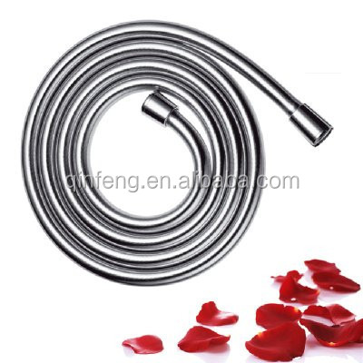Stainless steel flexible pvc shower hose ,rubber hose shower head with high quality ISO9001 Certificate,plumbing hoses