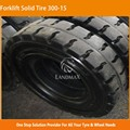7.00-15 28*12.5-15 32*12.1-15 355/65-15 Three Constructin Forklift Solid Tire 300-15