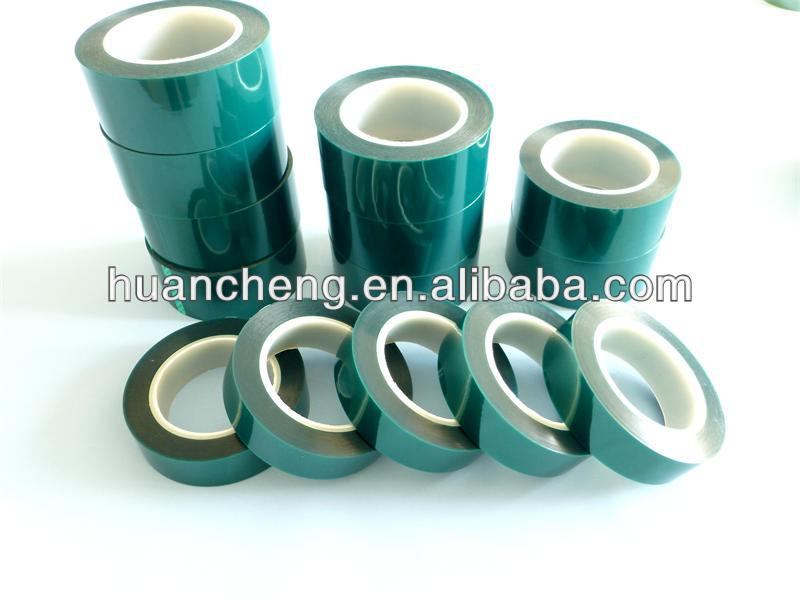 high temperature green polyester tapes
