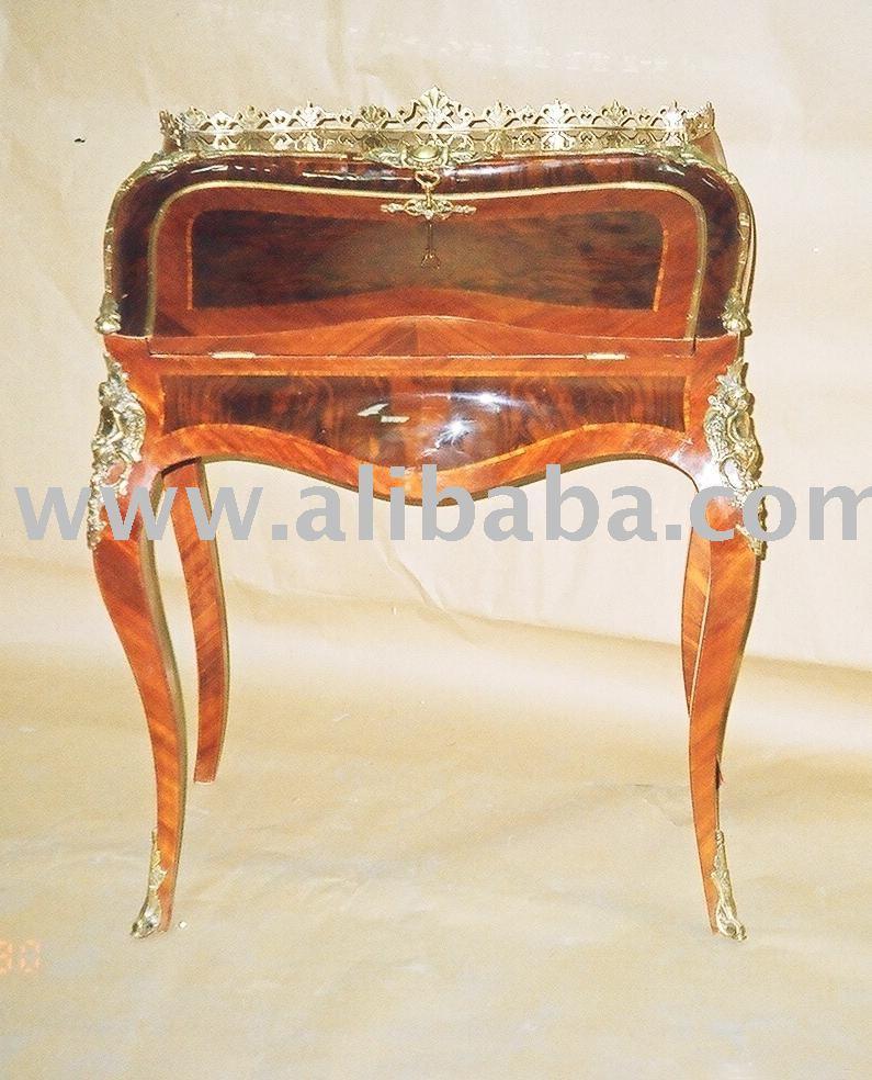 Louis xv secreter muebles franceses mesas de madera for Muebles franceses
