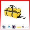large capacity and fashionable waterproof Rolling duffle bag for carring clothes and shoes