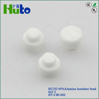 [HUTO CERATRIC]96% Alimina electrical insulation boot thermocole insulation electrical insulators