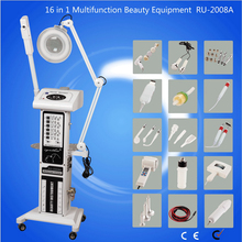 Vaporizer Facial Equipment Beauty Machine for Spa 16 in 1 machine Cynthia RU 2008A