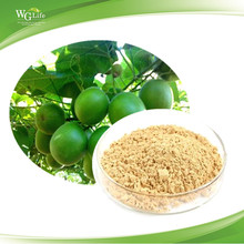Factory Supply High Quality Organic Luo Han Guo (Monk Fruit) Extract Powder 80% Mogrosides
