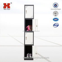 Steel Filing Cabinet Single Column 4 Compartment Locker