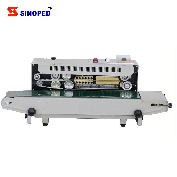 Plastic Bag Sealing Machine / Automatic Continuous Band Sealer