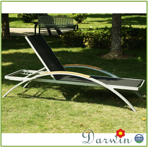 BEST Outdoor PE Rattan Hotel Sun Chaise Used Lounge Furniture