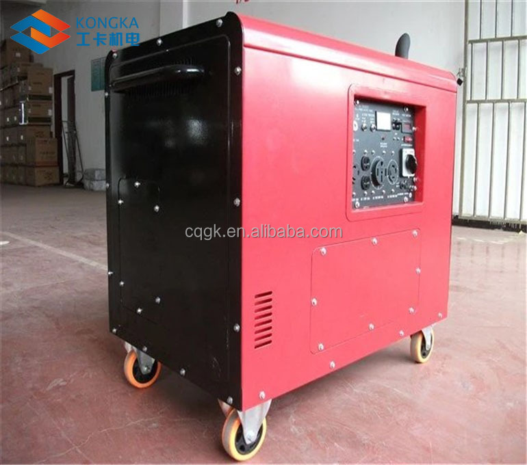 three phase output type silent diesel generator 5kw in philippines