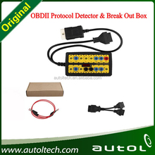 OBDII Protocol Detector & Break Out Box Universal Auto Diagnostic