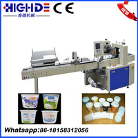 High quality reausrant one disposable paper cup autmatic cunting and packaging machine suppliers from China