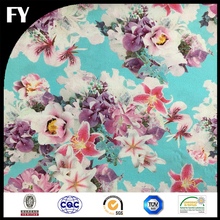 Factory custom high end digital printing banarsi silk fabrics