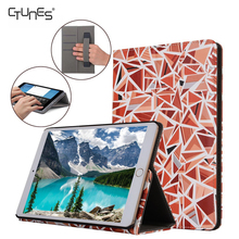 For iPad Pro 10.5 Case With Hand Strap,Magic Triangle Leather Multifunction Stand Case Cover With Card Pocket For iPad Pro 10.5