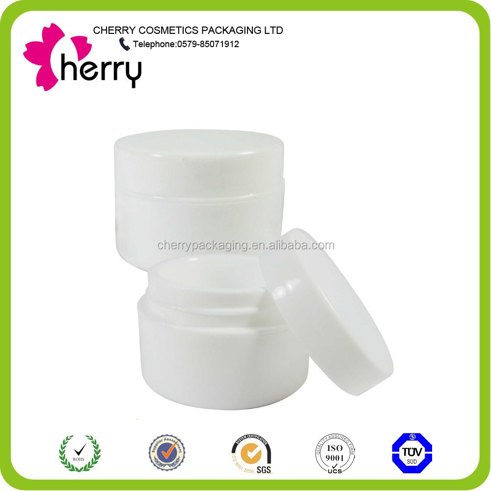 Cheap plastic pp cream jar cosmetics pp jar