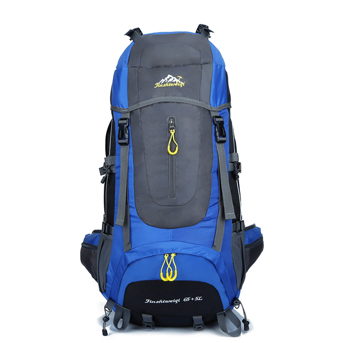Mountaintop 65+5L <strong>Backpack</strong> Water-resistant Hiking <strong>Backpack</strong>