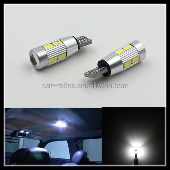 T10 192 W5W LED width Light T10 194 168 W5W10smd 5630 canbus LED instrument indicator Light T10 LED side marker light Bulb