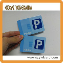 Fudan F08 Contactless Park Card For Paking Payment