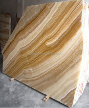 Factory price yellow honey onyx marble, transparent yellow onyx stone