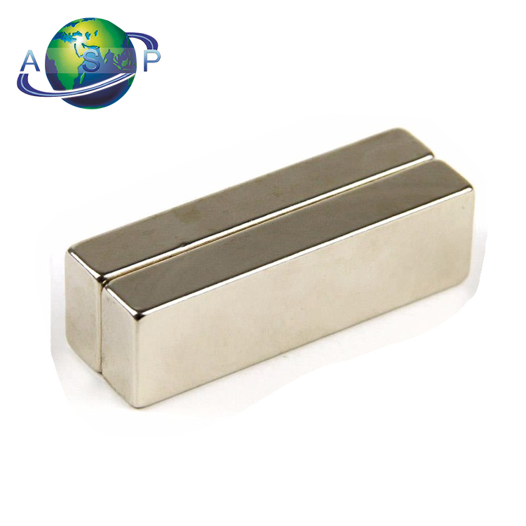 N52 single pole monopole tube magnet, ndfeb rectangular magnet block, neodymium bar block magnet