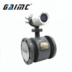 GMF100 waste liquid electromagnetic dirty water flow meter