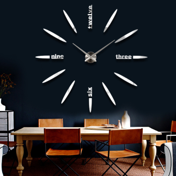 Acrylic 3d wall clock