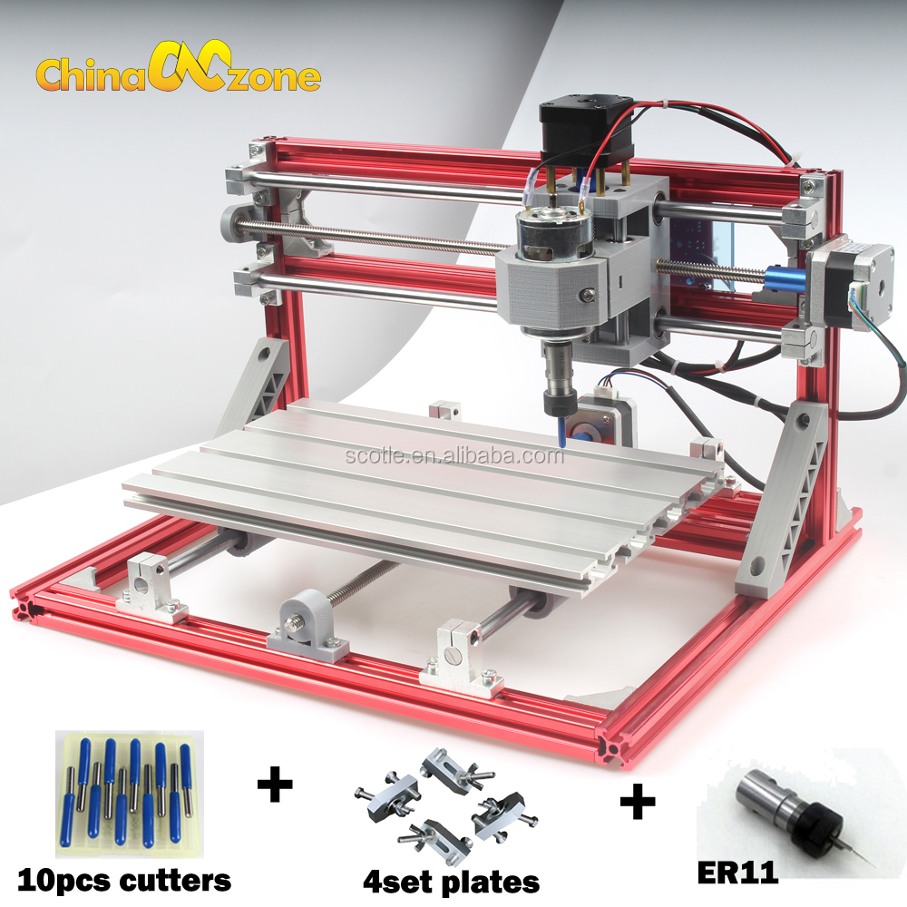 Mini <strong>CNC</strong> 3018 wood PCB engraving machine