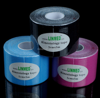 ISO CE and US-FDA sport strapping tape Your logo