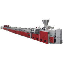 Pvc/pp/pe/pa single-wall corrugated pipe processing machines production line