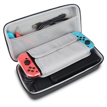BUBM Travel Case Hard Shell Protective Case for Nintendo Switch Console Carry Bag