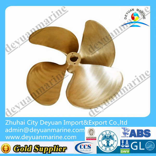 4 Blade fixed pitch ship propeller/shaft with CCS certificate for sale