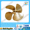 4 Blade fixed pitch ship propeller with CCS certificate for sale