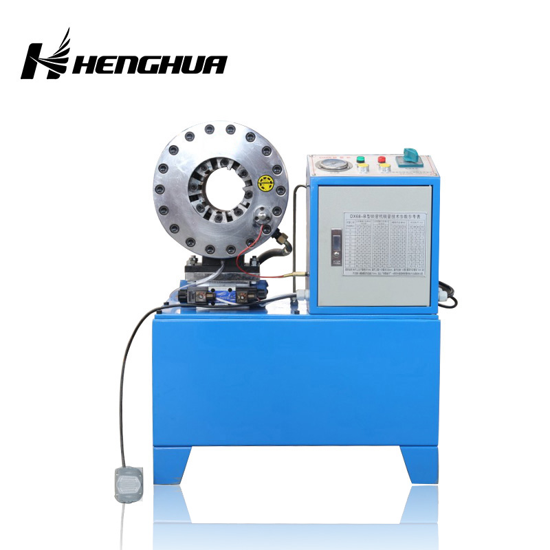 Hot Sale Heavy Duty 220 v/2 ' /with <strong>10</strong> die set Hydraulic Hose Crimping Machine