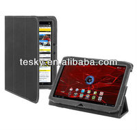 For Motorola Xoom 2 10.1inch Stand Leather Hard Case Back Cover