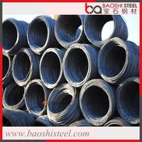 Baoshi steel JIS3112 SD 390 GR 400 construction steel rebar in bundles from china