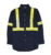 cheap wholesale long sleeve safety reflective work uniform shirt