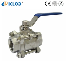 High Quality Long Stem 1 Inch Stainless Steel Ball Valve