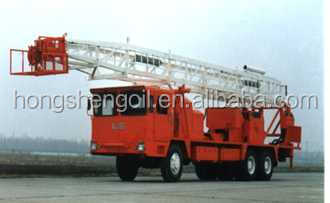 2016 hot sale API Workover Rig XJ250 Used to Oil Well Workover Service