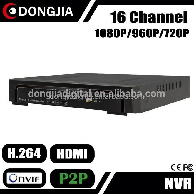 DONGJIA DA-2016A low price onvif network h.264 p2p 16ch 1080p dvr net digital video recorder