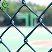 Pvc Coated Fine Mesh 9 Gauge Chain Link Fence