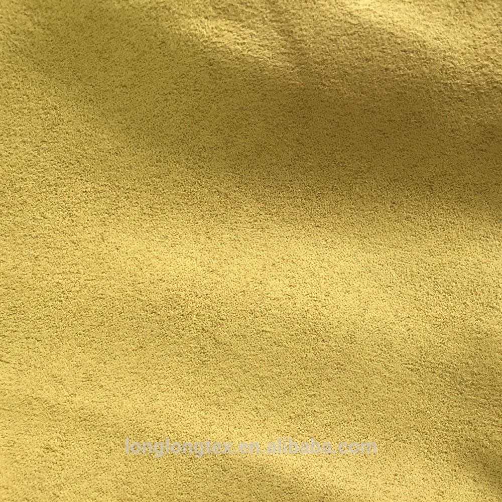 thick micro suede fabric