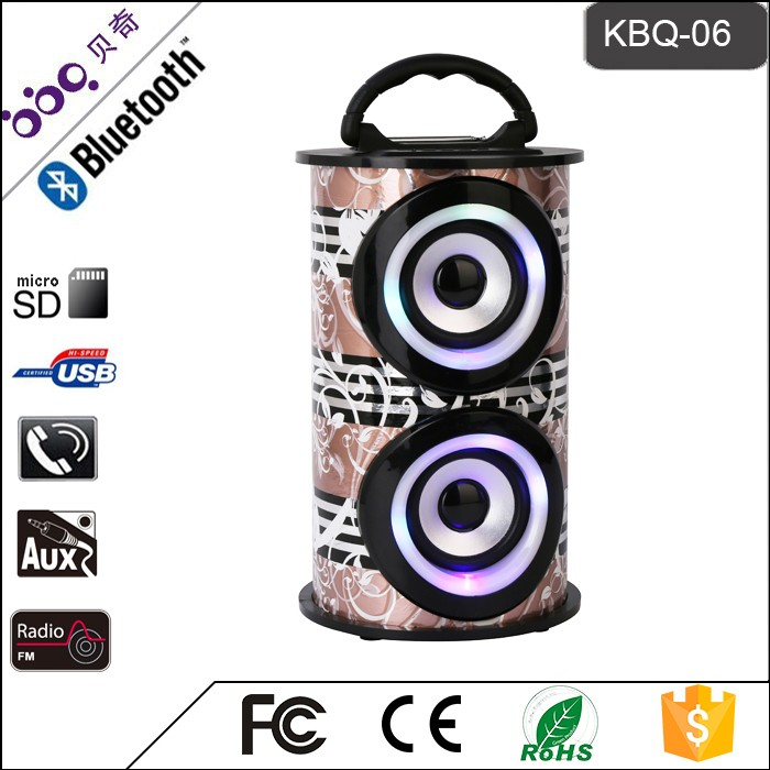 New product bass bluetooth speakers manufactured in China