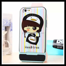 Hee & Tree Frame + Back Cover Case for iPhone 6 iPhone 6 Plus Face idea Case