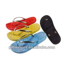 Bulk Recycled PVC Air-blowing PCU Rubber Plain Hotel Flip Flops