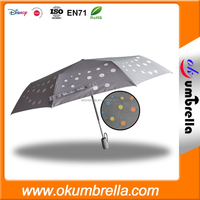 China Factory Strong Windproof VIP Folding Umbrella