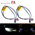 PA 50W 6ohm Load Resistor LED Cable Harness warning canceler 7443 T20 Decoder