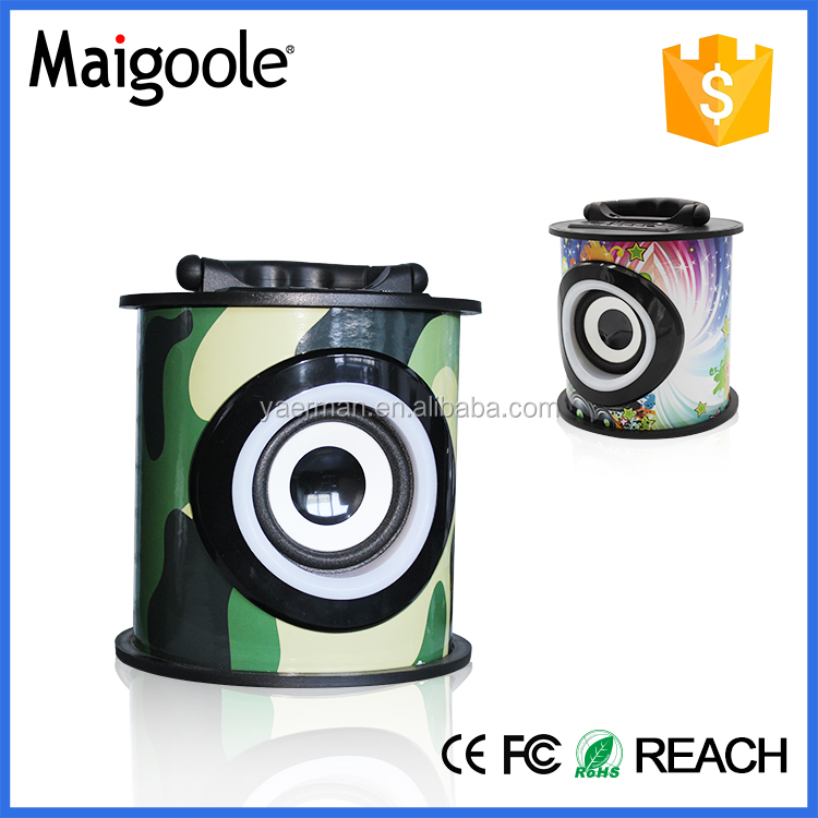 Factory price bluetooth 2.0 active mini speaker 3 inch with best quality