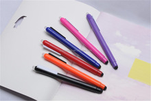 popular logo printing multicolor erasable gel pen with eraser