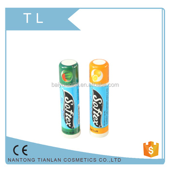 Promotional cute natural organic moisturizing softex lip balm